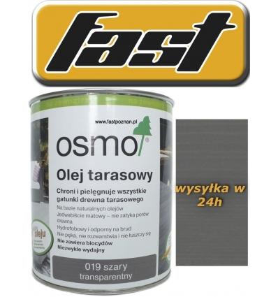 OSMO 019 Olej do tarasów DECKING OIL 2,5 l (szary)