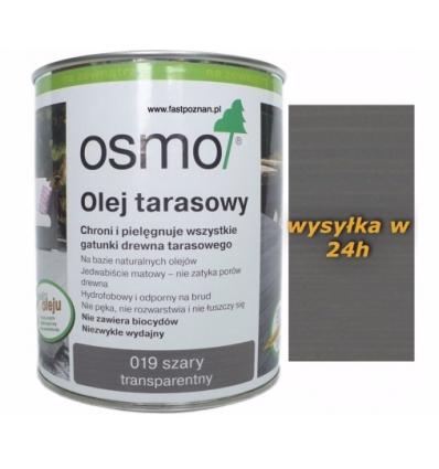 OSMO 019 Olej do tarasów SZARY 0.125l