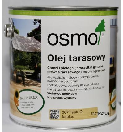 OSMO 007 Olej do tarasów TEAK...