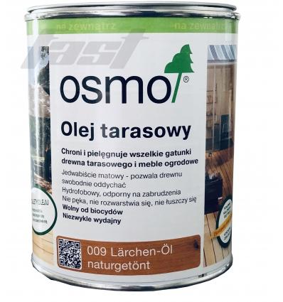 OSMO 009 Olej do tarasów MODRZEW 0,75 l