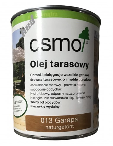 OSMO 013 Olej do tarasów GRAPA 0.125L